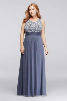 Strike a unique, fashion-forward note in this plus size long dress with a printed bodice and matching bolero sequin jacket that's perfect for cooler evenings.  By Jessica Howard  Chiffon  Back zipper, fully lined  Dry clean  Crafted in Vietnam  Also available in Regular Sizes  Protect your dress before you wear it with our Garment Bag