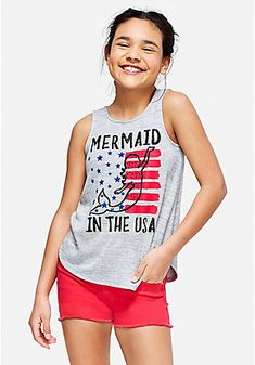 90850c9861 Girls  Fashion Tops   On-Trend Tees