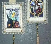Assim na Terra como no Céu - Imagens Sacras,Escapulários e Estandartes