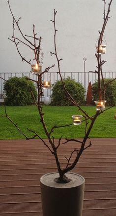 Wohnbrise: Weihnachten, Kerzenlicht, Lichterbaum