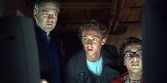 Still of Kenneth Branagh, Tom Hiddleston and Luke Allen-Gale in Wallander, absolutely love how young and innocent Tom looks in this picture.