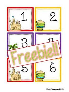 "This is a set of Summer calendar cards numbers 1-31! Also included are 2013 and 2014 year cards! These cards are set up in an ""ABCC Pattern"" rotation!Here are some other SUMMER/SPRING packets I have in my store!Writing/Reading Comprehension {All about LADYBUGS}Writing/Reading Comprehension {All about BUTTERFLIES}Daily Math and Literacy Spring {April} Common CoreDaily Math and Literacy {May} Common CoreWrite the Room Sight Words {Frog Theme}Write the Room Sight Words {Insect Theme}Shape…"