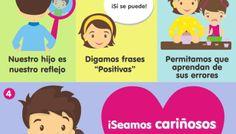 Cómo Estimular la Autoestima en los Niños | Infografía