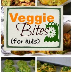 Veggie Bites for Kids