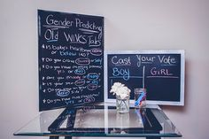 Boy or Girl old wives tales to help guests cast their vote...Baby Gender Reveal - JGossPhotography... baby shower idea