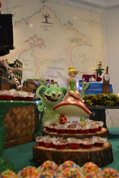 Peter Pan party details Detalhes da festa hand made do Peter Pan e Sininho