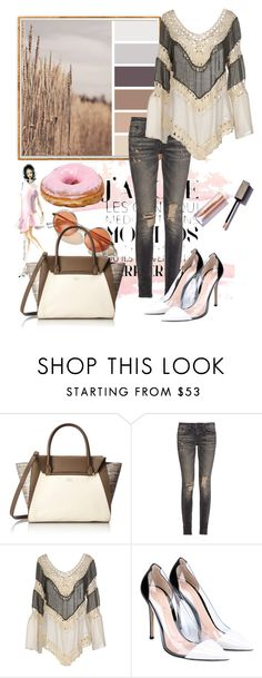 """One day"" by milkalilien on Polyvore featuring Vince Camuto, R13, Care Of You and Gianvito Rossi"