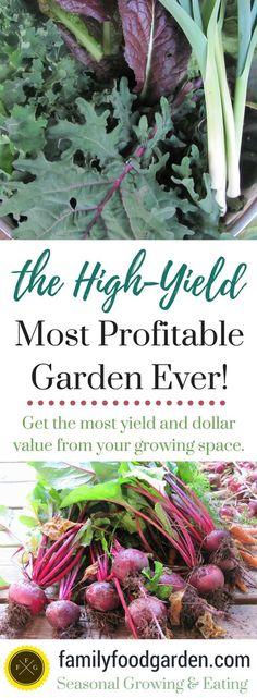 The High-Yield Profitable Garden