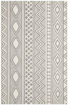 Isaac Mizrahi Ivory/Grey Area Rug | AllModern