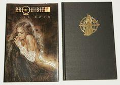 PROHIBITED BOOK LUIS ROYO.  Edicion en rustica tapadura con cubierta ilustrada.  2ª edicion 2001  Precio 15 €