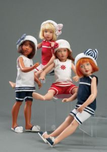 """Kish and Company :: Cassy, Buffy, Patty and Betsy  Beach Girls Collection 10.5"""""""