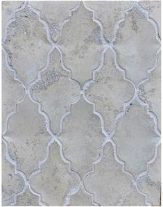 Arabesque Pattern 12 Hacienda Limestone-Laticrete 18 Sauterne Grout. Patio pavers.