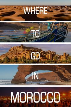 Want to travel to Morocco, but don't know where to go? This guide will tell you the BEST places to see, the CHEAPEST places to see and the FUNNEST places to see.