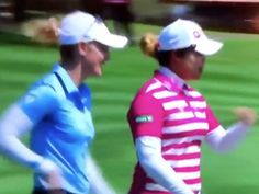 Golf Sayings UPDATE: Olson says she was trying to help with pace of play, not gain advantage as many question latest backstopping incident on the LPGA - Golf Digest - Focus on separation between your upper body and lower body as you start the downswing Golf Downswing, Lpga Golf, Golf Quotes, Golf Sayings, Michelle Wie, Perfect Golf, Golf Gifts, Golf Fashion, Ladies Golf