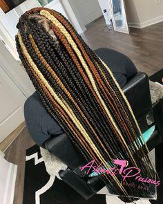Cute Box Braids Hairstyles, Box Braids Hairstyles For Black Women, Braids Hairstyles Pictures, Black Girl Braids, African Braids Hairstyles, Braids For Black Hair, Wig Hairstyles, Protective Hairstyles, Hair Updo