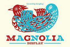 Magnolia font @creativework247