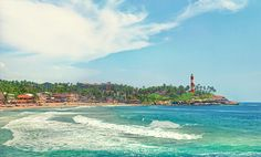 Kovalam Beach Holidays is a dream of every beach lover. Rejuvenate amidst palm-fringed coconut trees, gentle waves and calming ambience. North India Tour, Honeymoon Tour Packages, Kovalam, Kerala Tourism, Mysore, Beaches In The World, Beach Town, Beach Holiday, Tours