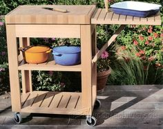 3726-Grill Cart Plans