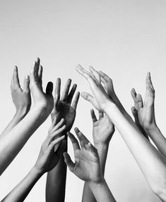 So many hands Hands Reaching Out, What Is Human, Hand Photography, Hand Reference, Black And White Photography, People, Instagram, Indie Hipster, Hipster Grunge