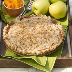 Crumb Topped Apple Pie Recipe from Taste of Home