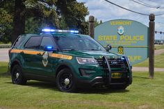 Vermont State Police State Trooper # 213 Ford Interceptor Utility