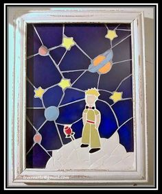 Mosaic Crafts, Mosaic Art, Mosaic Glass, Stained Glass, Glass Art, Projects To Try, Fan Art, Frame, Mosaic Tables