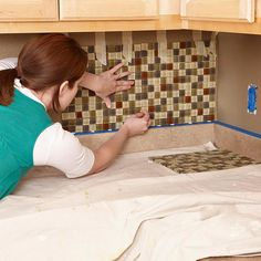 How to do your own backsplash directions