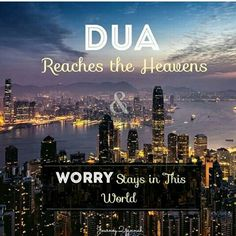 Power of supplication to All Mighty Allah:)