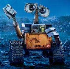 "My 2 year old son, Tavin, loves this movie and tells us to ""do the wall e"" by clasping our hands together. I know! Adorable!!"