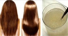 Long, smooth and silky hair is a symbol of femininity and is almost every woman's desire. None wishes a dry and damaged hair. If you have such a problem and want to change things about that then the only think that you need is gelatin powder. Beauty Secrets, Beauty Hacks, Mascara Hacks, Curly Hair Styles, Natural Hair Styles, Silky Hair, Smooth Hair, Thick Hair, Hair Repair