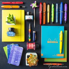 Goulet Pens Blog: Thursday Things: Over the Rainbow
