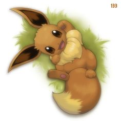 Wee Little Eevee -She was always my favorite.