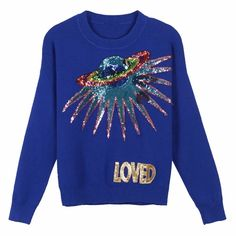 Size:XX-Small 4 Cheap Monday Womens Tips Knit Cut Star Jumpers Silver