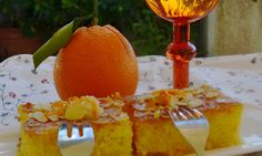 Πορτοκαλόπιτα σαν  Σάμαλι από την καταπληκτική Ιωάννα Σταμούλου και το «Sweetly» ! Greek Desserts, Greek Recipes, Confectionery, Easy Crafts, Alcoholic Drinks, Dessert Recipes, Dinner, Orange, Fruit