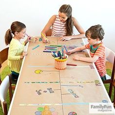 With this tabletop activity, you can collect answers to all those family history questions. http://www.parents.com/fun/activities/super-fun-ideas-for-family-reunions/?socsrc=pmmpin150714fffamilyhistory&crlt.pid=camp.dC7blLLTcBhQ {pacifickid.net/}