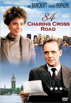 Amazon.com: 84 Charing Cross Road: Anne Bancroft, Anthony Hopkins, Judi Dench: Movies & TV