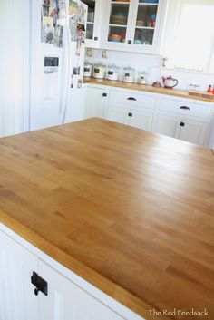 Tung Oil With Citrus Solvent Finish From The Milk Paint Co This Is Supposed To Be Best For Butcherblock Picture Credit Red Feedsack