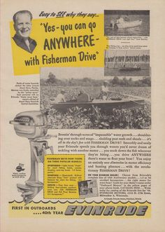 1000 images about antique vintage outboards ads on for Used outboard motors nj