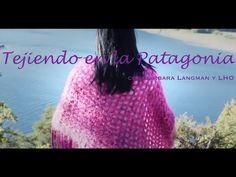 Poncho con un rectángulo. Bárbara Langman - YouTube Freeform Crochet, Knit Crochet, Crochet Hats, Knitting Videos, Crochet Videos, Ladies Poncho, Crochet Clothes, Shawl, Sweaters For Women