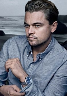"Leonardo DiCaprio in the ""August Man"", Feb 2013 Amor Leo, Leonard Dicaprio, Young Leonardo Dicaprio, Leonardo Dicaprio Hairstyle, Leo Love, Hollywood Actor, Best Actor, Gorgeous Men, Role Models"
