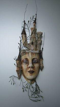 paper mache sculpture - Google Search