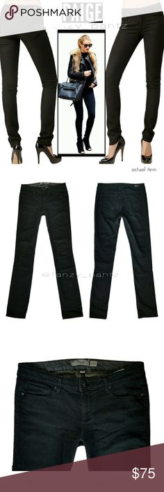 Paige Skyline Drive Skinny Jeans 29 x 34 Paige ~ Skyline Skinny ~ 'Black Diamond' wash ~ mid-rise ~ cotton,LES, XLA stretch blend denim, super soft comfort and maintains shape with wear ~ excellent condition, free from signs of wear!!  💥Measurements are provided in the photos, inseam and rise photo 4, waist photo 5 ❌NO trades  ✔REASONABLE offers welcome                   or  ❤hit ' add to bundle '  for a special, no obligation offer. . . just for you! ❤ PAIGE Jeans Skinny