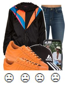 """Untitled #233"" by e-mpathy ❤ liked on Polyvore featuring Topshop, adidas and adidas Originals"
