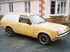 Vauxhall Chevanne  This is identical to the one I had