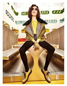 creepers Mica Arganaraz by Fred Meylan for Be February 2013