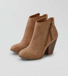 AEO Side Zip Heeled Bootie - Fall Collection On Sale Now! 45