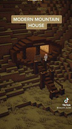 Minecraft Mansion, Minecraft Cottage, Easy Minecraft Houses, Minecraft House Tutorials, Minecraft Room, Minecraft Plans, Minecraft Videos, Minecraft Decorations, Amazing Minecraft