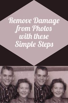 Remove Damage from Photos with These Simple Steps - Online Photo Editing - Online photo edit platform. - Remove Damage from Photos with These Simple Steps Old Family Photos, Old Photos, Edit Photos, Family Pictures, Creative Memories, Photo Fix, Photo Repair, Foto Fun, Affinity Photo