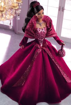 2002 Holiday Celebration™ Barbie™ Doll Special Edition Release Date: 8/1/2002 Product Code: 56210