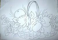 Pintura em tecido ,Pintura em tela, Riscos e desenhos para pintar e artesanatos: RISCOS FLORES 2